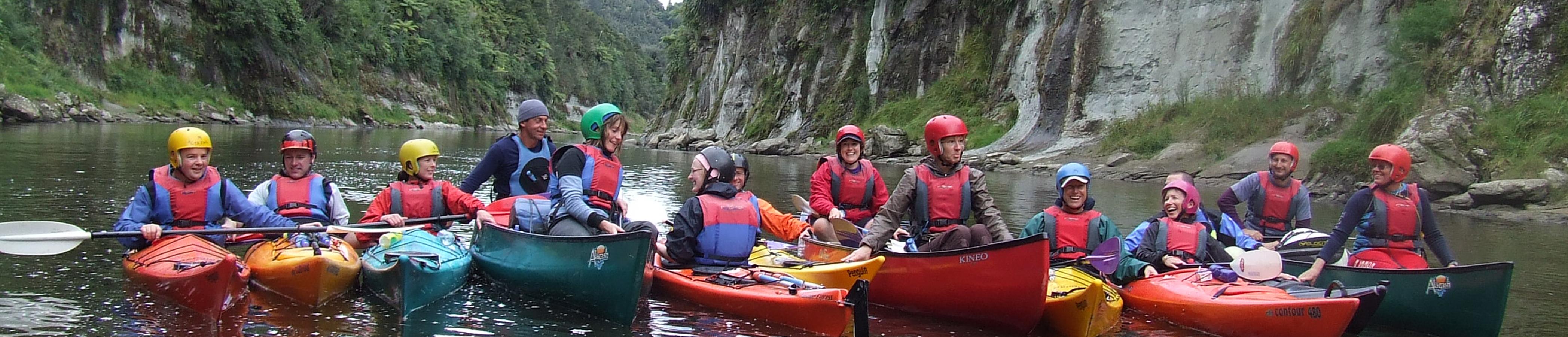 Canoe and Kayak Banner Wanganui Group