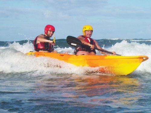Kayak Surfing Sit-on-Top