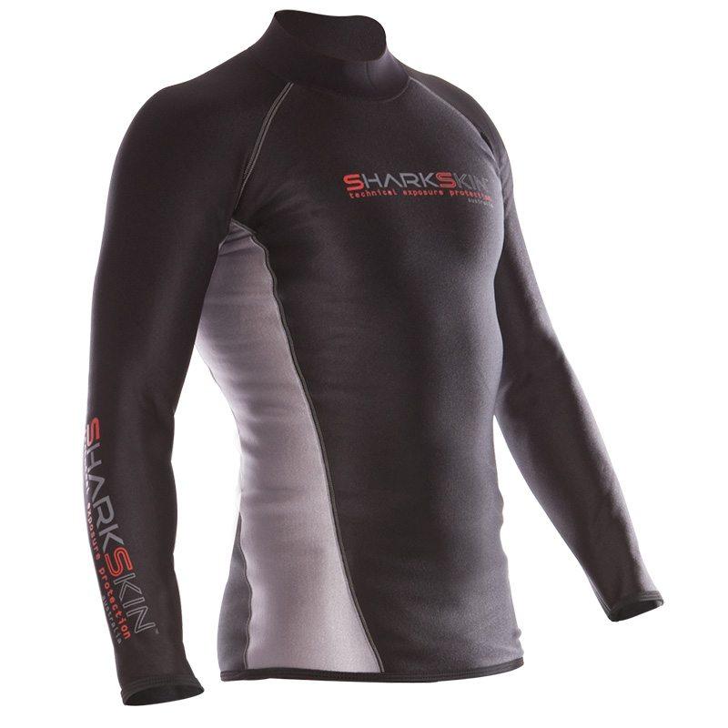Sharkskin chillproof long sleeve top