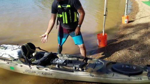 Trident Angler Ocean Kayak Fishing